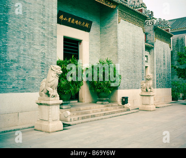Wong Fei Hung Memorial - Stock Photo