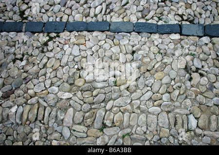 china pebbles schwarz
