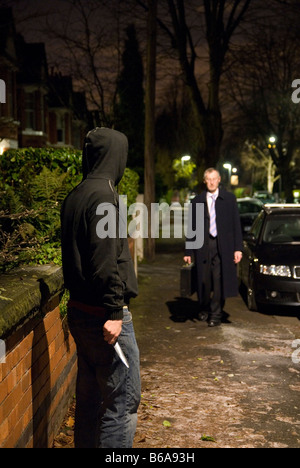 Knife Crime 05 - Stock Photo