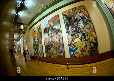 diego rivera murals wall paintings in the secretary of. Black Bedroom Furniture Sets. Home Design Ideas