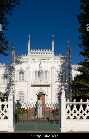 Africa Mozambique Maputo Architectural view of Natural History Museum - Stock Photo