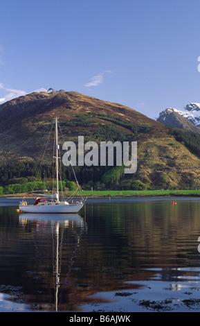 Bishops Bay on Loch Leven near North Ballachulish, Lochaber, Highland, Scotland, UK. - Stock Photo