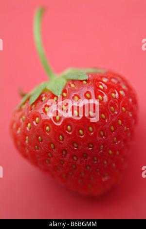 Close-up of strawberry - Stock Photo