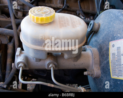Brake master cylinder - Stock Photo