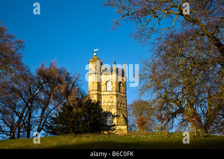 The Culloden Tower Richmond North Yorkshire - Stock Photo