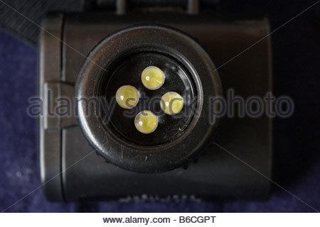 LED light emitting diode - Stock Photo