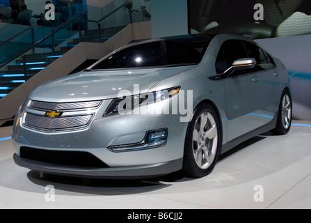 Front detail of Chevrolet Volt - Stock Photo