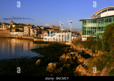 The National Marine Aquarium on the Barbican in Plymouth, Devon. - Stock Photo