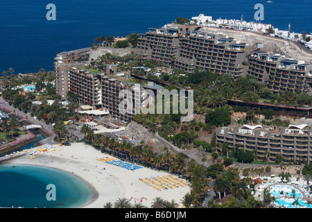 Gran Canaria: Anfi Del Mar Timeshare Resort Near Puerto Rico - Stock Photo