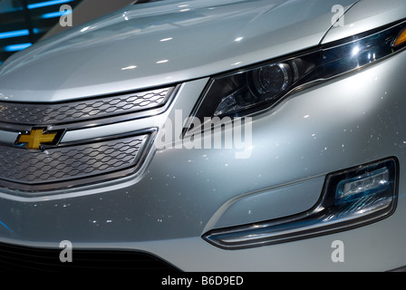 Front detail of Chevrolet Volt - Stock Photo