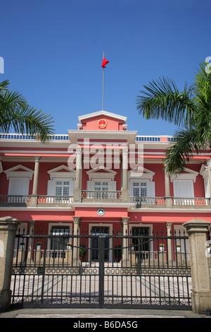 China Macau Government Headquarters - Stock Photo