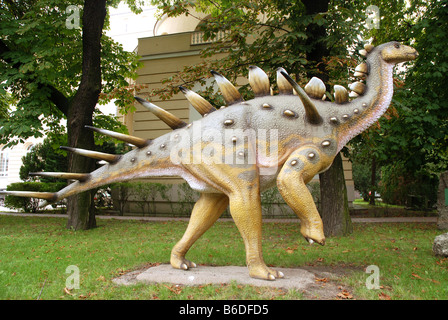 Model of Kentrosaurus aethiopicus dinosaur - Stock Photo