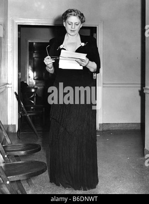 ETHEL BARRYMORE  1879-1959 US film and stage actress in 1940 - Stock Photo