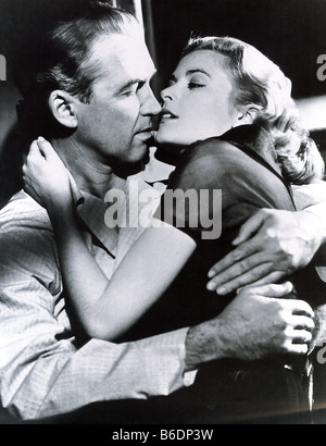 REAR WINDOW 1954 Paramount film with James Stewart and Grace Kelly - Stock Photo