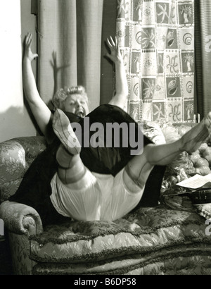 TESSIE O'SHEA Welsh entertainer and actress 1913 to 1955 - Stock Photo