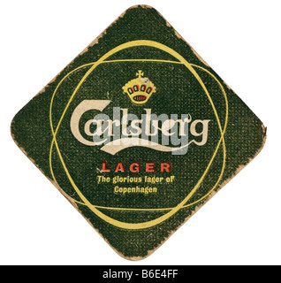 carlesberg larger the glorious larger of copenhagen - Stock Photo