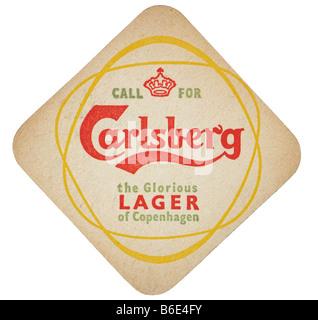 call for carlesberg the glorious larger of copenhagen - Stock Photo
