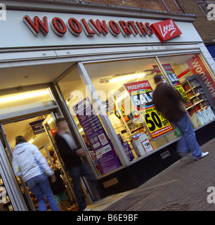 Woolworths, Woolies, High St, Retail, Closure,Dec 2008 - Stock Photo