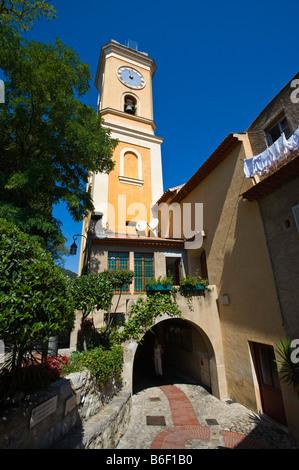 Eze, Provence Cote d Azur, France, Europe - Stock Photo