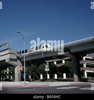 BART Bay Area Rapid Transit San Francisco Bay area California USA - Stock Photo