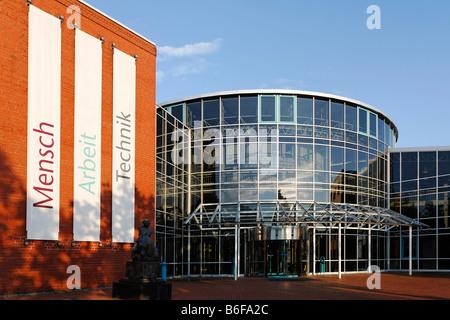 DASA building, Deutsche Arbeitsschutzausstellung or German Employment Protection Exhibition, Dortmund, North Rhine - Stock Photo