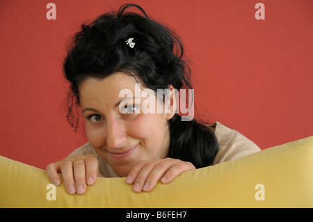 Young woman, 28, portrait - Stock Photo