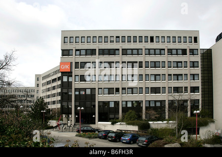 Head office of the GfK AG, Gesellschaft fuer Konsumforschung or Consumer Research Enterprise, in Nuremberg, Bavaria, - Stock Photo