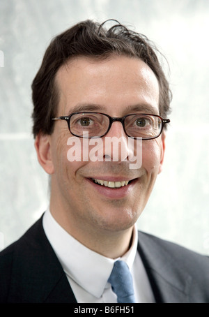 Christian Weller von Ahlefeld, Finance Director of the GfK AG, Gesellschaft fuer Konsumforschung or Consumer Research - Stock Photo