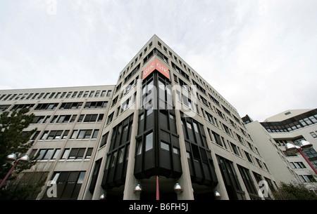Head office of the GfK AG, Gesellschaft fuer Konsumforschung or Consumer Research Enterprise, in Nuremberg, Bavaria, - Stock Photo