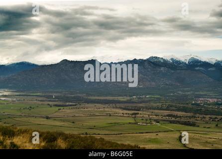 Sierra de Guadarrama near Soto del Real. La Pedriza de Manzanares el Real, Madrid, Spain, España, UE - Stock Photo