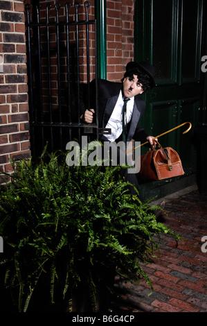Running away - Stock Photo