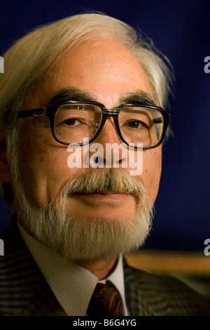 Hayao Miyazaki world famous film director and animator - Stock Photo