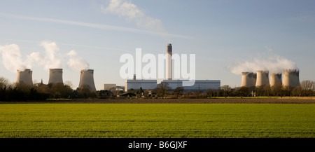 Drax coal fired power station - Stock Photo