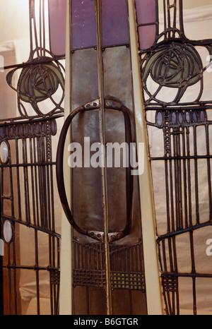 Willow  Tea Doors Detail - Stock Photo
