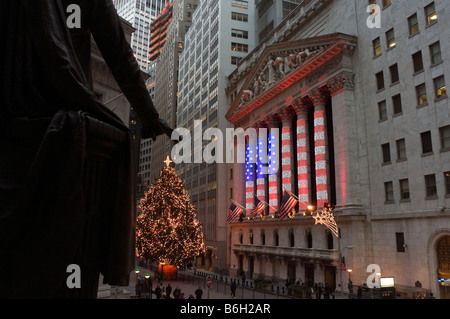 New York NY 12 December 2008 - Stock Photo