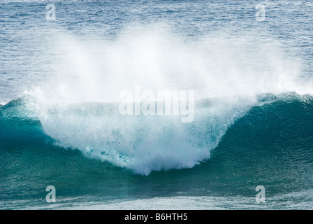 close up of a beautiful ocean wave - Stock Photo