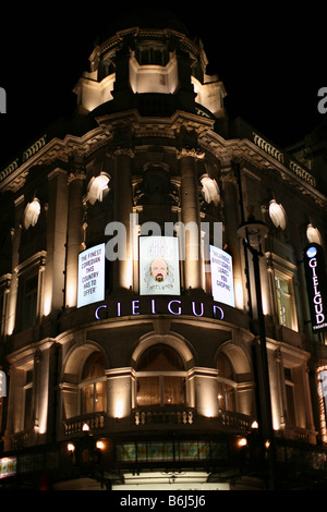 Gielgud Theatre in London's West End - Stock Photo