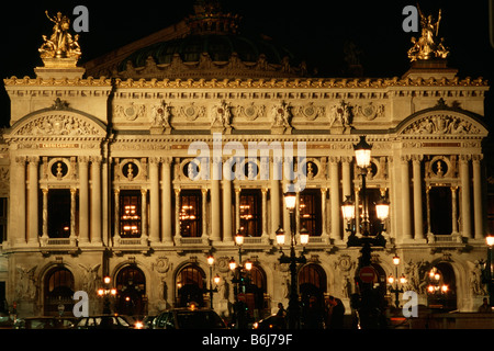 Paris France Opéra National de Paris Garnier 9th Arrondissement - Stock Photo