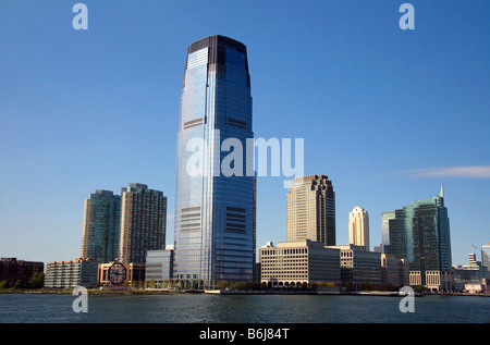 Goldman Sachs Tower in Jersey City New Jersey USA - Stock Photo