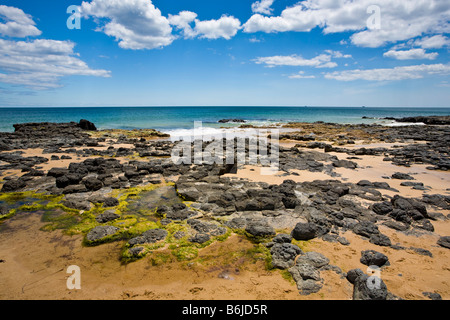 Lighthouse Beach Bunbury Western Australia WA - Stock Photo