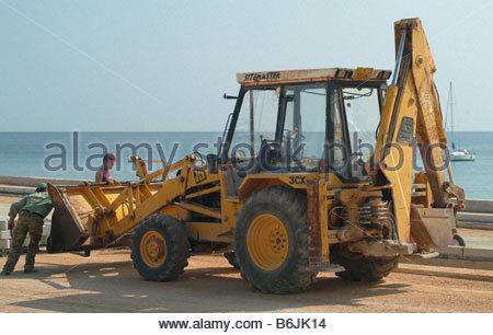 Excavator excavators - Stock Photo