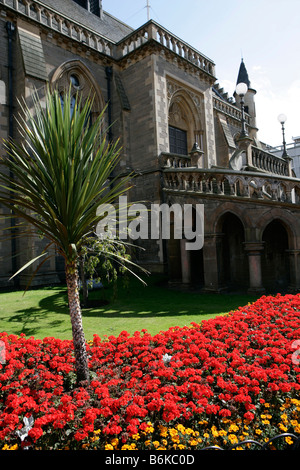 City of Dundee. The west elevation of the 19th century George Gilbert Scott designed McManus Galleries. - Stock Photo