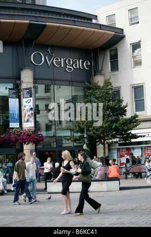 City of Dundee, Scotland. The High Street entrance to the Overgate Shopping Centre in Dundee city centre. - Stock Photo