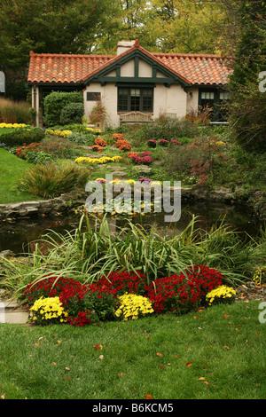 Smith Memorial Gardens Oakwood or Dayton Ohio Stock Photo: 21365072 ...