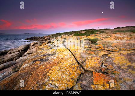 Point Ellan Sunrise - Stock Photo