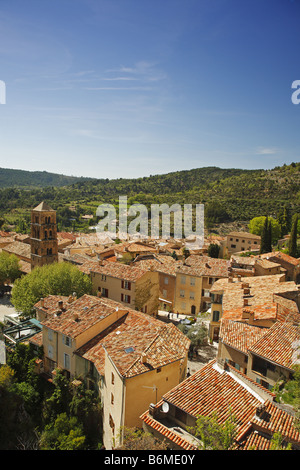 Moustiers Ste Marie, Provence, France - Stock Photo