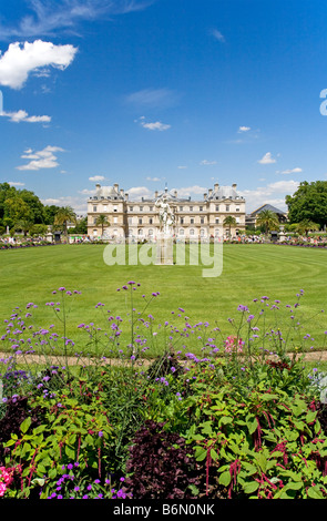 The Palais du Luxembourg in Paris, France - Stock Photo