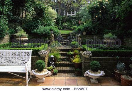 Garden Design On A Hill camden hill square london small town garden design penelope