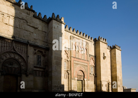 exterior de la mezquita catedral de cordoba andalucia españa cordova cathedral mosque andalusia spain - Stock Photo