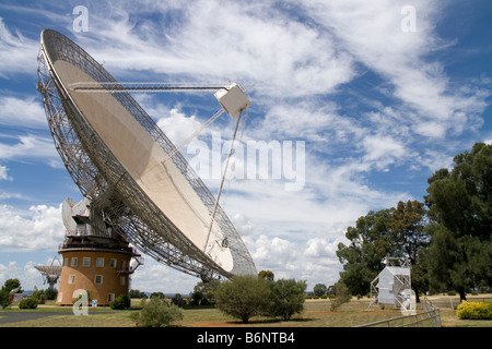 Parkes Observatory Radio Telescope. - Stock Photo
